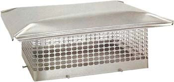 5. The Forever Cap CCSS1414 13 x 13-Inch Stainless Steel 5/8-Inch Spark Arrestor Mesh Chimney Cap