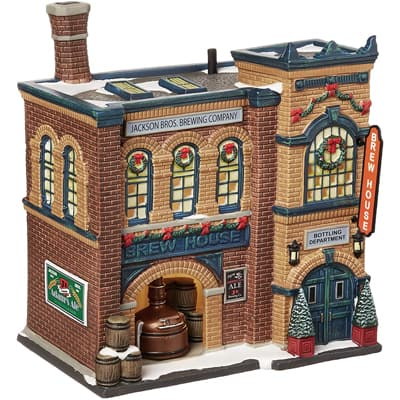 Department 56 Christmas in the City Village Brew House Lit House, 8.11 inches