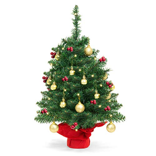 Best Choice Pre-Lit Tabletop Artificial Christmas Trees