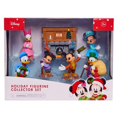 Mickey Christmas Carol Event Statues Set