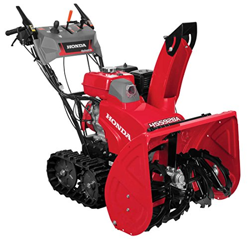 Honda Power HSS928AATD Two-Stage Track Drive Snow Blower