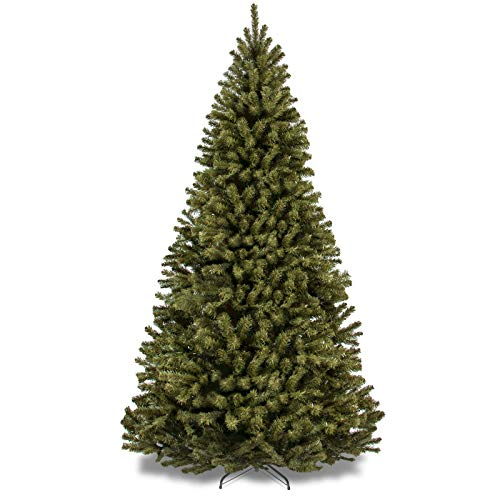 Premium Spruce Hinged Christmas Trees with Foldable Stand