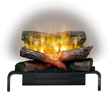 8. Dimplex Revillusion 20-Inch Electric Fireplace Log Set (RLG20)