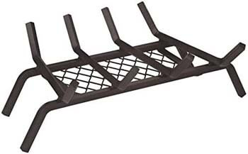 1. Rocky Mountain Goods Fireplace Grate with Ember Retainer