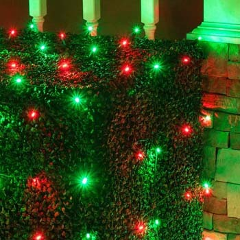 8. Set of 100 LED Red and Green Net Lights