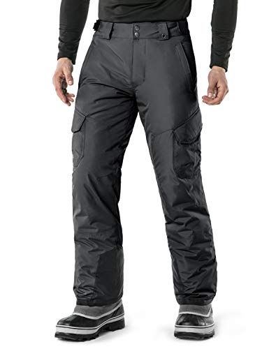 TSLA Snow Pants with Windproof Design for Men