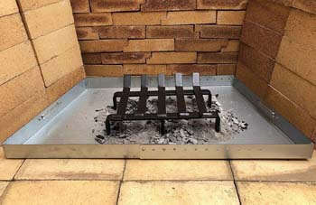 7. Hi-Flame Log Grate Heavy Duty Solid Steel Burning Fireplace