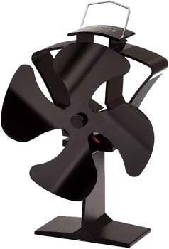 3. Tomersun 4 Blades Heat Powered Stove Fireplace Fan