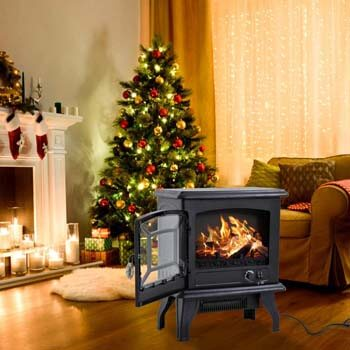 6. FDW Electric Fireplace Heater 20