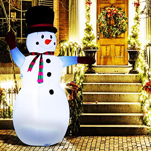 ANPHSIN Christmas Inflatable Snowman