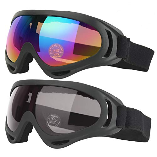 Ski Motorcycle Goggles for Men, Women, and Youth