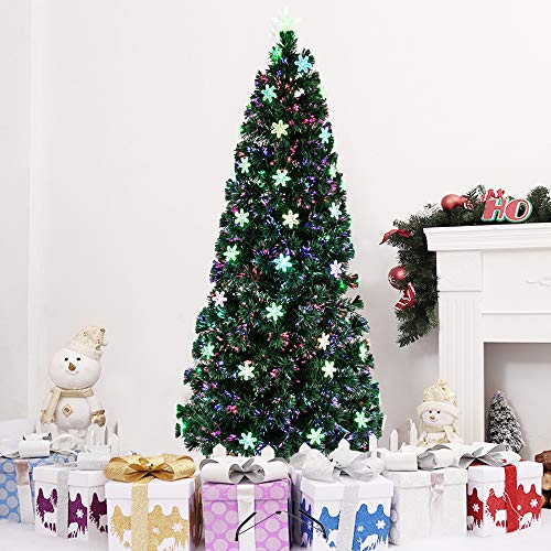 ZRONJIE Artificial Christmas Trees with a Stand